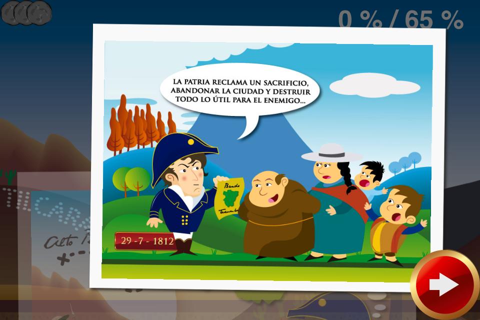 Screenshot Juego del Exodo