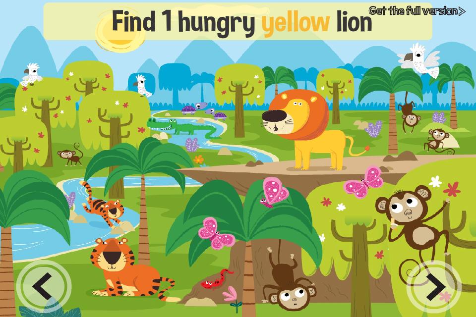 Screenshot Jungle Adventure: Free educational kid's game